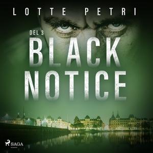 Black Notice del 3 (ljudbok) av Lotte Petri