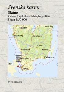 Svenska kartor. Kullen - Ängelholm – Helsingbor