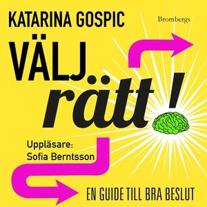Välj rätt (ljudbok) av Katarina Gospic