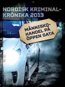 Människohandel på öppen gata (e-bok) av Diverse