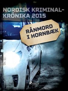 Rånmord i Hornbæk (e-bok) av Diverse författare