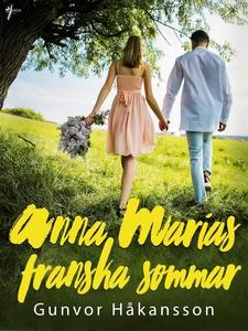 Anna Marias franska sommar (e-bok) av Gunvor Hå
