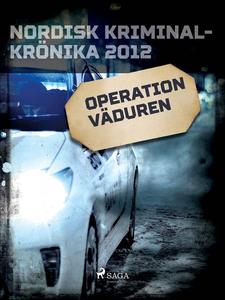 Operation väduren (e-bok) av Diverse författare