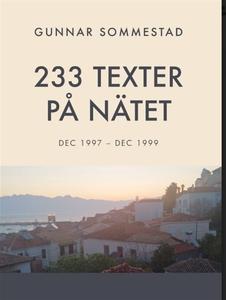 233 TEXTER PÅ NÄTET (e-bok) av Gunnar Sommestad