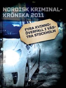 Fyra kvinnoöverfall i västra Stockholm (e-bok)