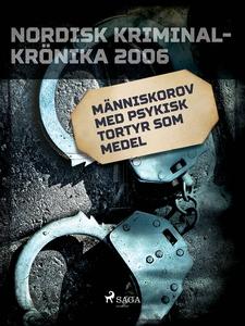 Människorov med psykisk tortyr som medel (e-bok
