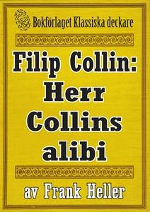 Filip Collin: Herr Collins alibi. Återutgivning