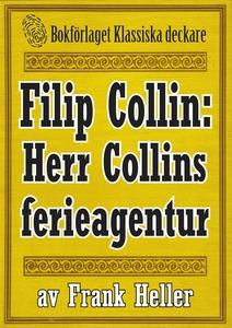 Filip Collin: Herr Colins ferieagentur. Återutg
