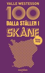 100 balla ställen i Skåne 2018-2019 (e-bok) av