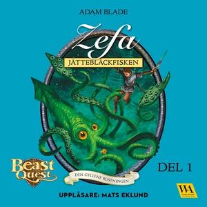 Zefa - jättebläckfisken (ljudbok) av Adam Blade