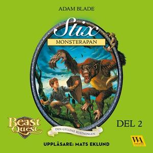 Stix - monsterapan (ljudbok) av Adam Blade