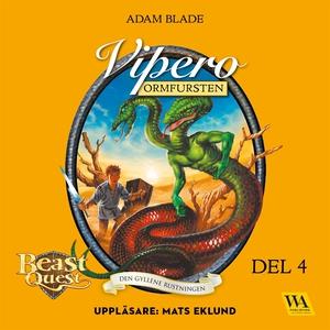 Vipero - ormfursten (ljudbok) av Adam Blade