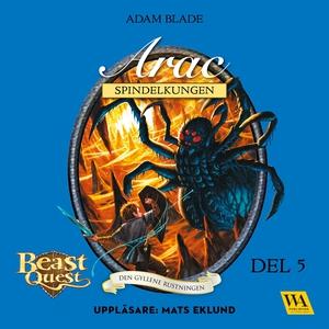 Arac - spindelkungen (ljudbok) av Adam Blade