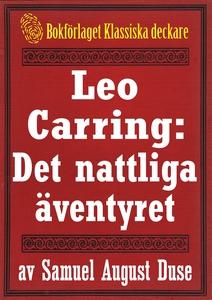 Leo Carring: Det nattliga äventyret. Återutgivn