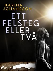 Ett felsteg eller två (e-bok) av Karina Johanss