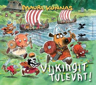 Viikingit tulevat! (ljudbok) av Mauri Kunnas