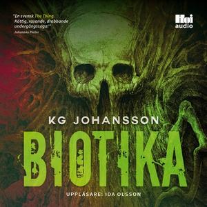 Biotika (ljudbok) av KG Johansson