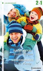 Glimtar av lycka/Semesterromansen (e-bok) av Ka