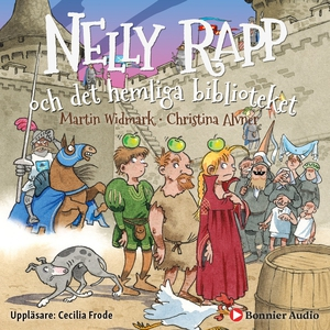 Nelly Rapp och det hemliga biblioteket (ljudbok