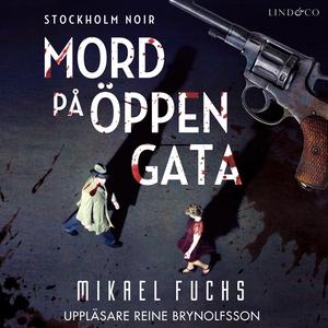 Mord på öppen gata (ljudbok) av Mikael Fuchs