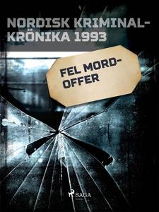 Fel mordoffer (e-bok) av Diverse författare