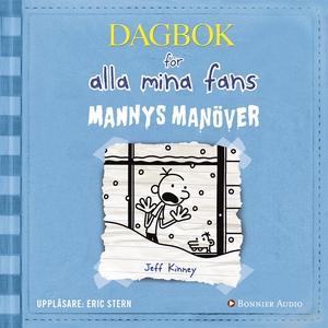 Mannys manöver (ljudbok) av Jeff Kinney