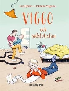 Viggo och rädslolistan (ljudbok) av Lisa Bjärbo
