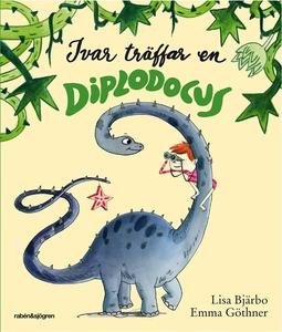 Ivar träffar en Diplodocus (ljudbok) av Lisa Bj