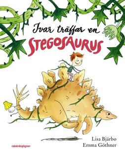 Ivar träffar en Stegosaurus (ljudbok) av Lisa B