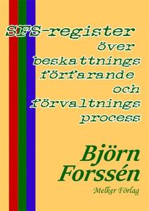 SFS Register (e-bok) av Björn Forssén