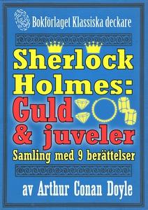 Sherlock Holmes-samling: 9 berättelser om guld