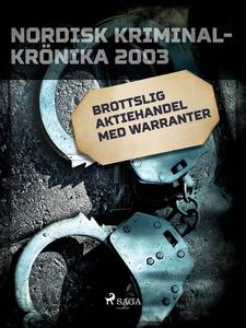 Brottslig aktiehandel med warranter (e-bok) av