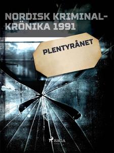 Plentyrånet (e-bok) av Diverse författare