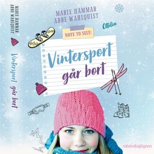 Vintersport går bort (ljudbok) av Marie Hammar,