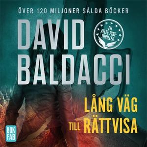 Lång väg till rättvisa (ljudbok) av David Balda