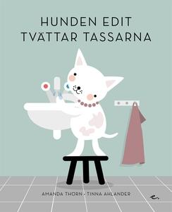 Hunden Edit tvättar tassarna (e-bok) av Amanda