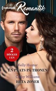 En plats på tronen/Heta zoner (e-bok) av Cathy
