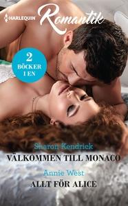 Välkommen till Monaco/Allt för Alice (e-bok) av