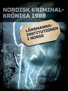 Länsmannainstitutionen i Norge (e-bok) av Diver