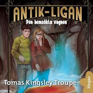 Den hemsökta vagnen (ljudbok) av Thomas Kingsle