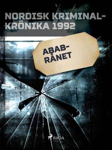 ABAB-rånet (e-bok) av Diverse
