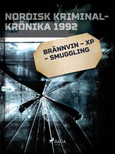 Brännvin – XP – smuggling (e-bok) av Diverse