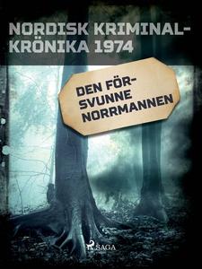 Den försvunne norrmannen (e-bok) av Diverse