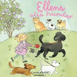 Ellens alla hundar (ljudbok) av Catarina Kruusv