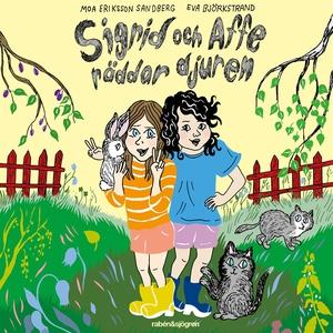 Sigrid och Affe räddar djuren (ljudbok) av Moa