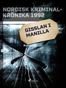 Gisslan i Manilla (e-bok) av Diverse författare