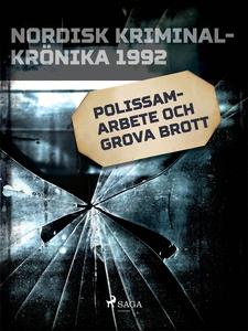 Polissamarbete och grova brott (e-bok) av Diver