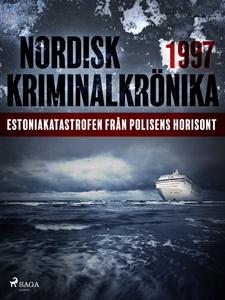 Estoniakatastrofen från polisens horisont (e-bo