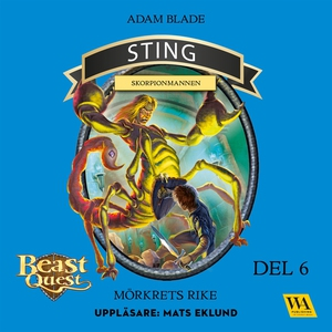 Sting - skorpionmannen (ljudbok) av Adam Blade