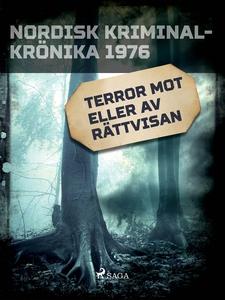 Terror mot eller av rättvisan (e-bok) av Divers